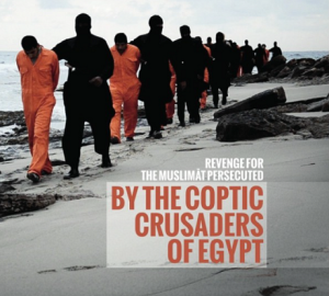 from http://shoebat.com/2015/02/15/isis-sends-message-christians-will-soon-see-ocean-blood-nation-cross/