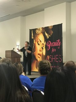 Karin at Beauty for Ashes Conference 9-16-17